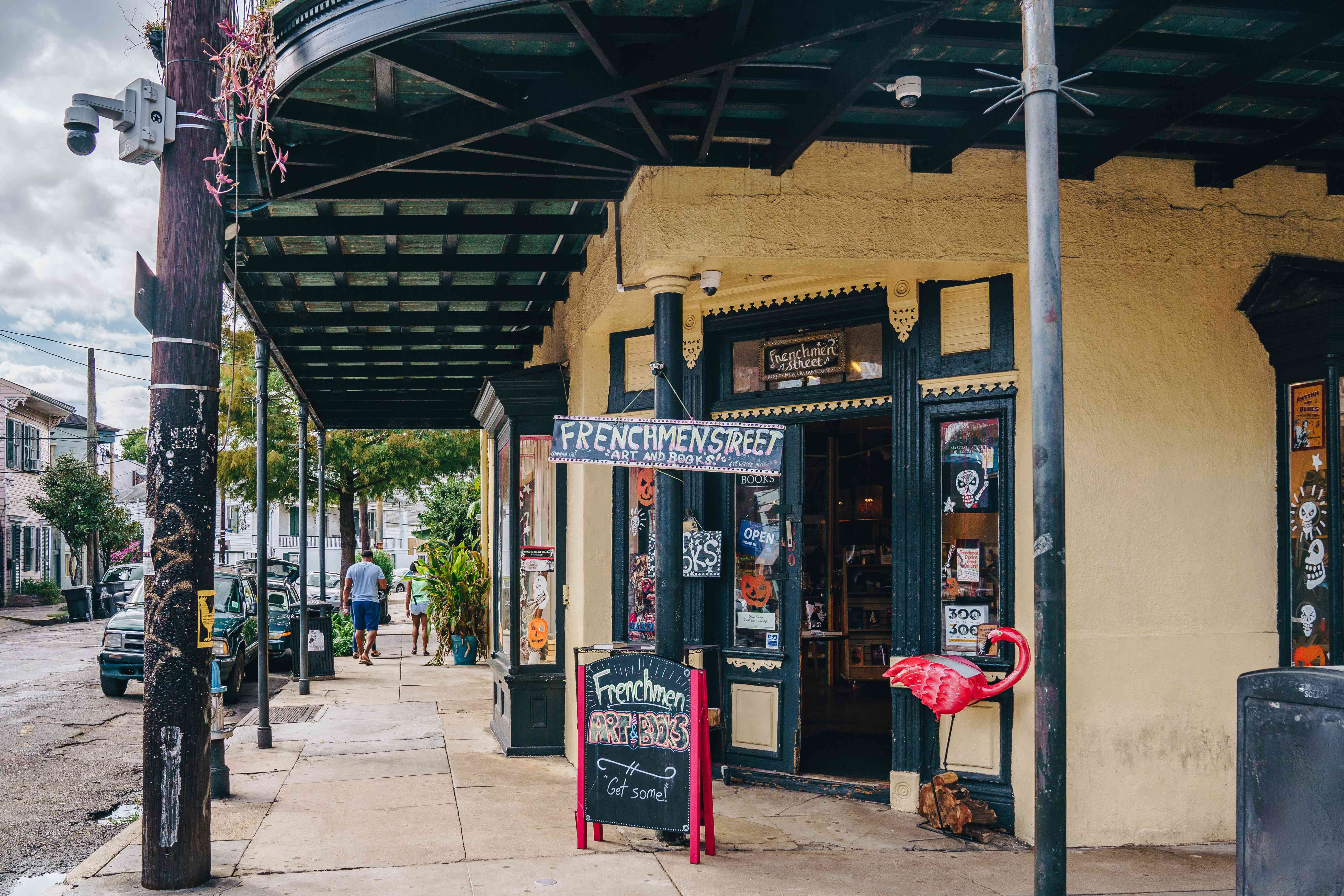 A colorful store on Frenchmen Street
