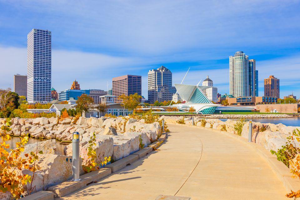Milwaukee Skyline, WI