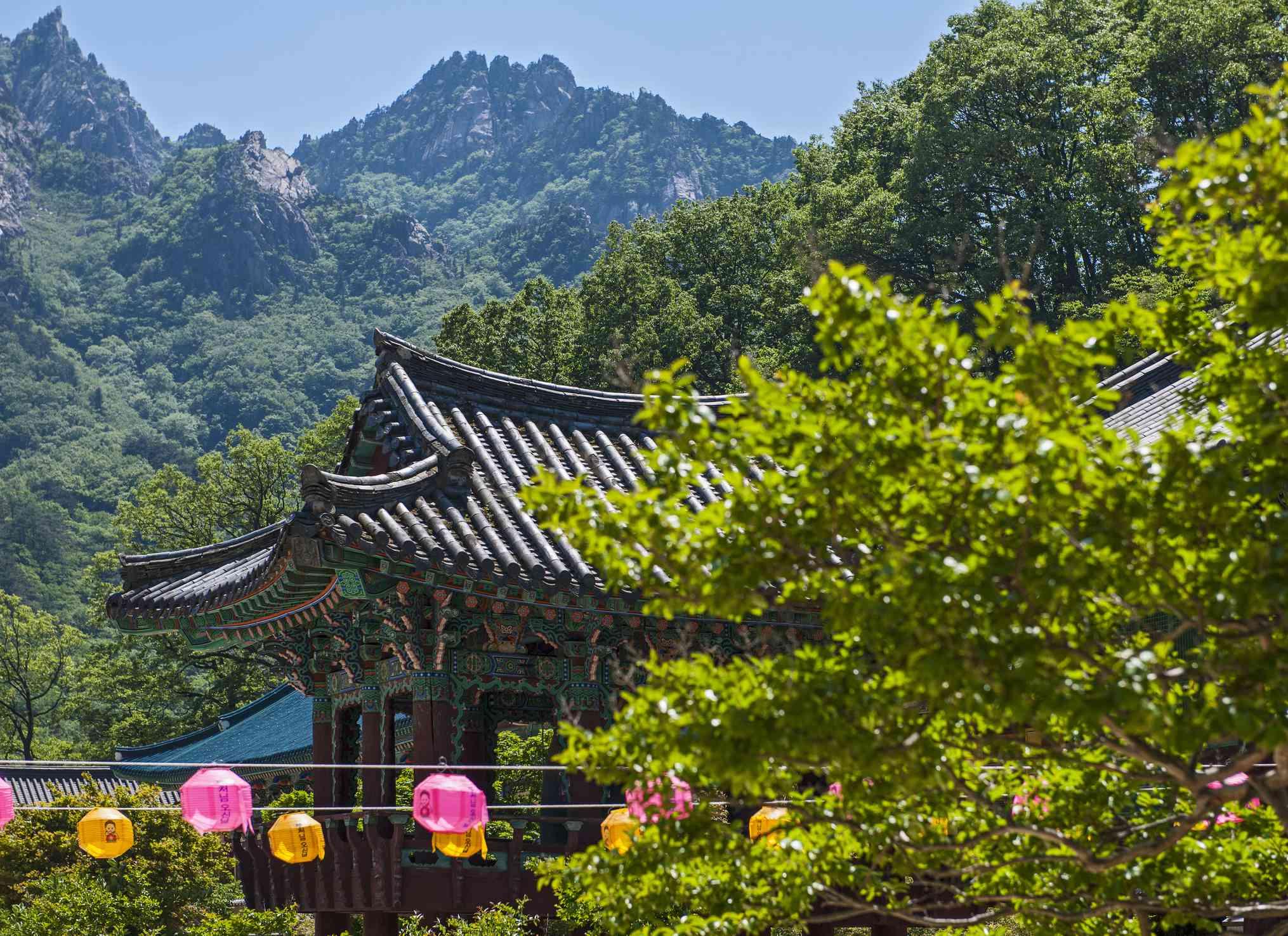 Temple at Seoraksan National Park, South Korea