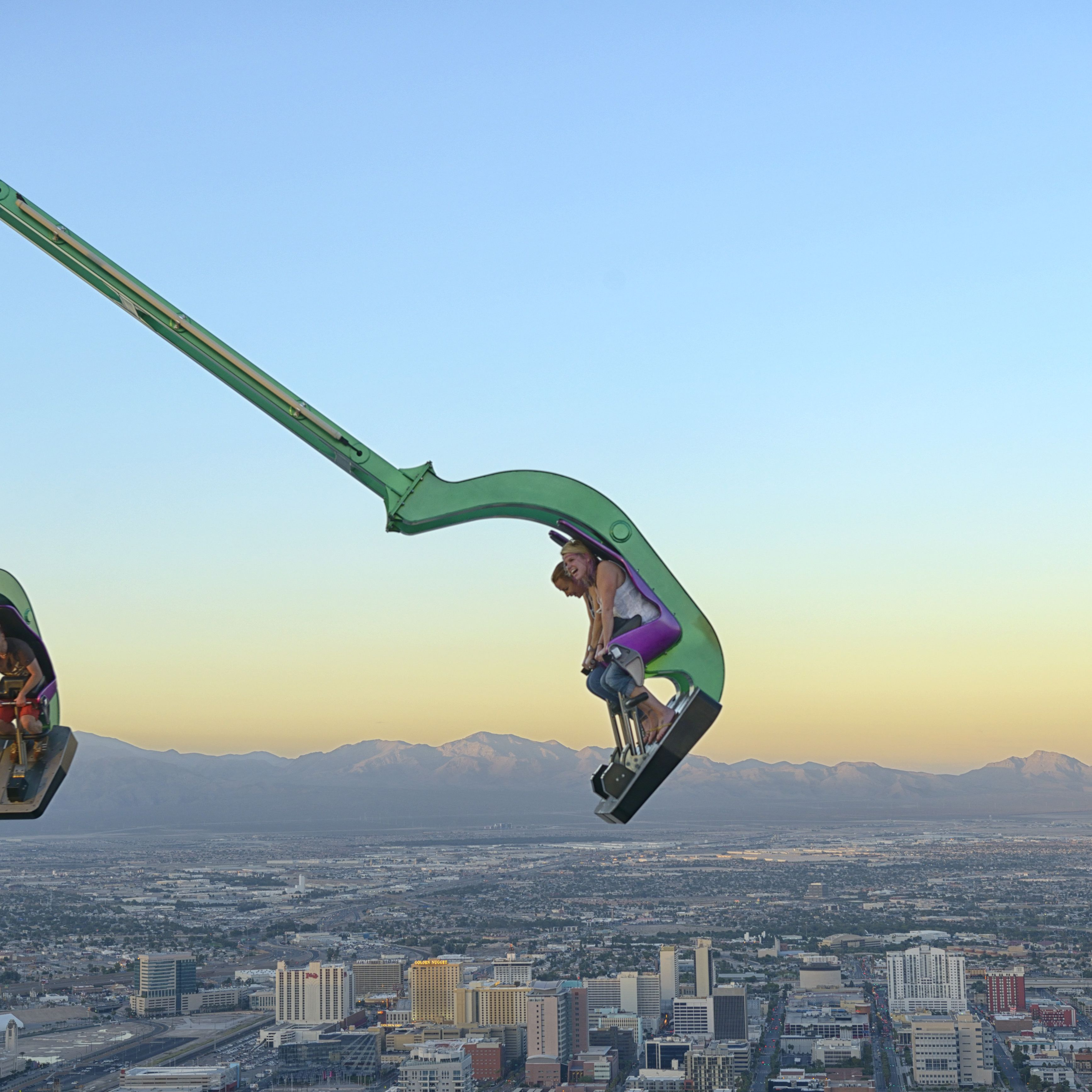 Best Thrill Rides And Roller Coasters In Las Vegas