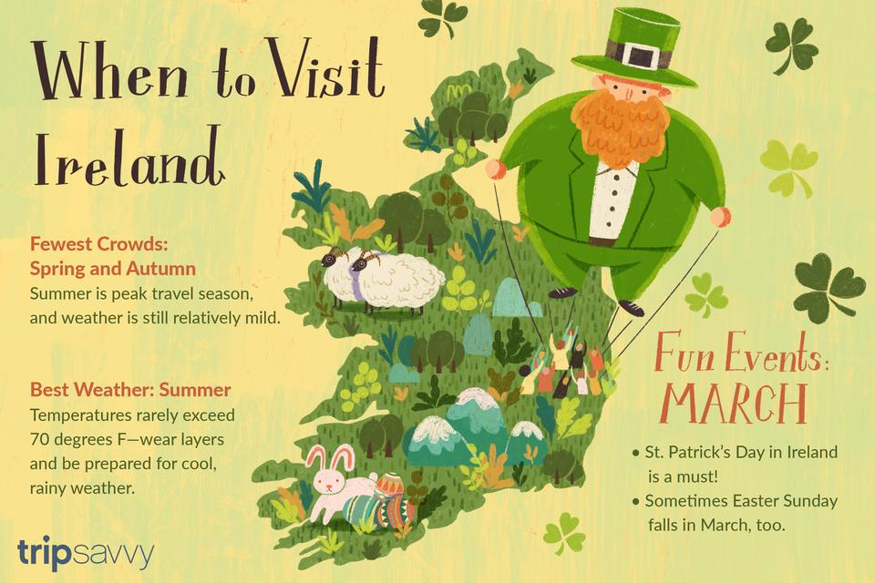 El mejor momento para visitar Irlanda