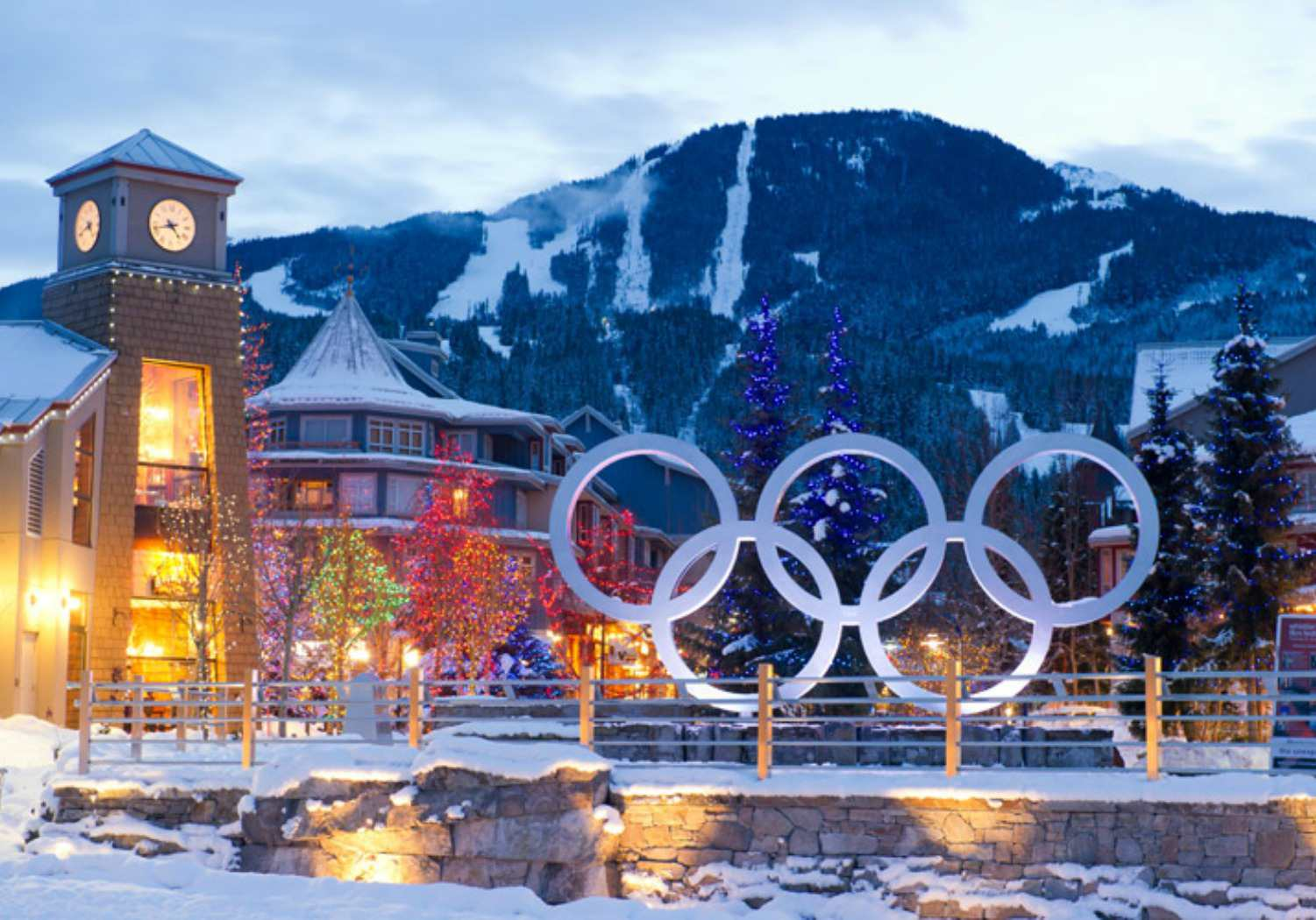 Olympic Activities in Whistler British Columbia