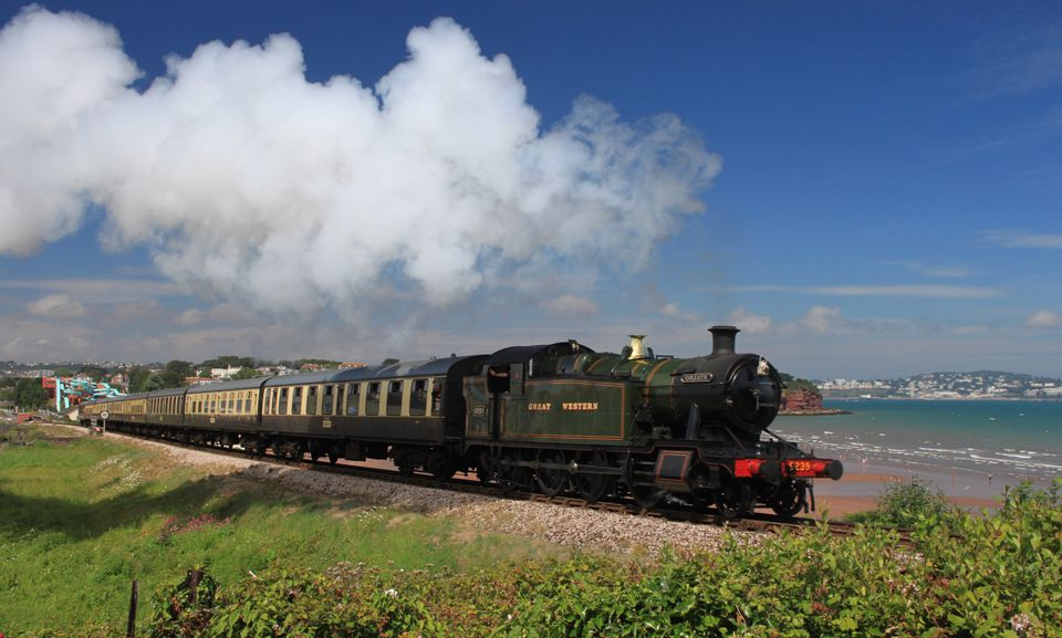 Great Western Railway on Darthmouth Steam Railway in Devon