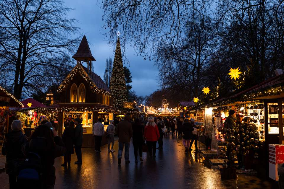 Christmas Market at Winter Wonderland, Hyde Park