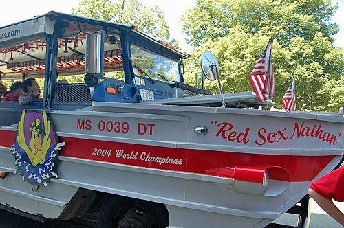 Boston Duck Tour - World War II-Era Amphibious Duck Red Sox Nathan