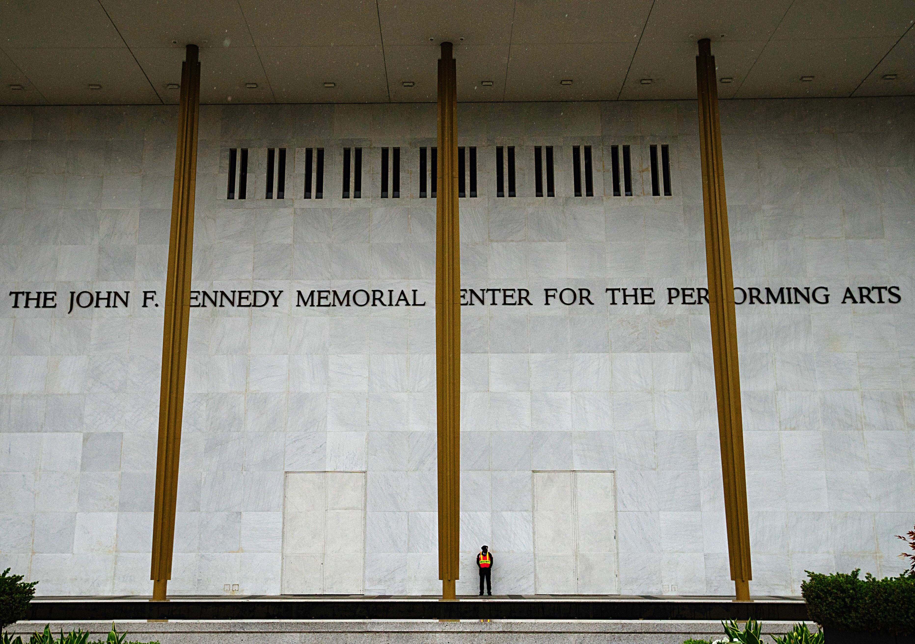Exterior Of Kennedy Center