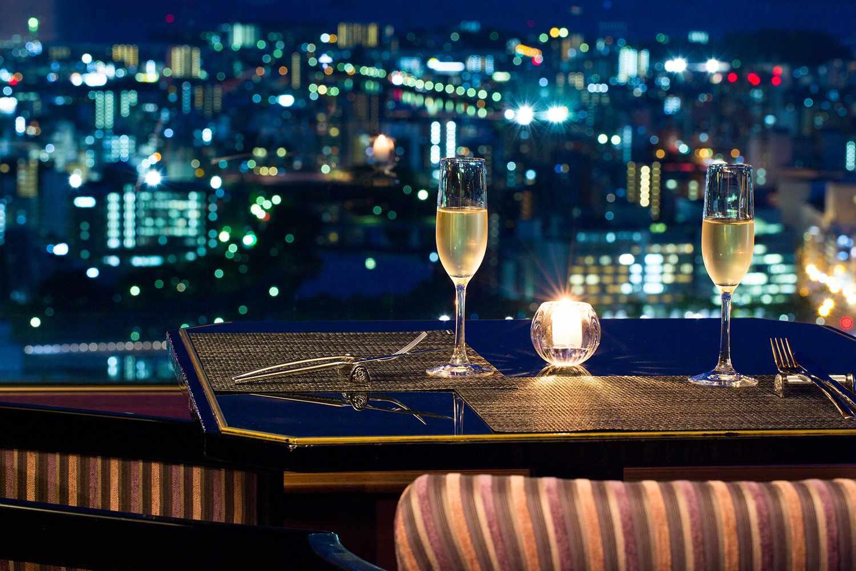 Dining at RIHGA Royal Hotel Hiroshima