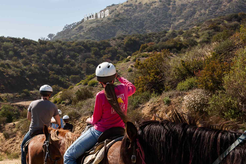 Equitación en Hollywood