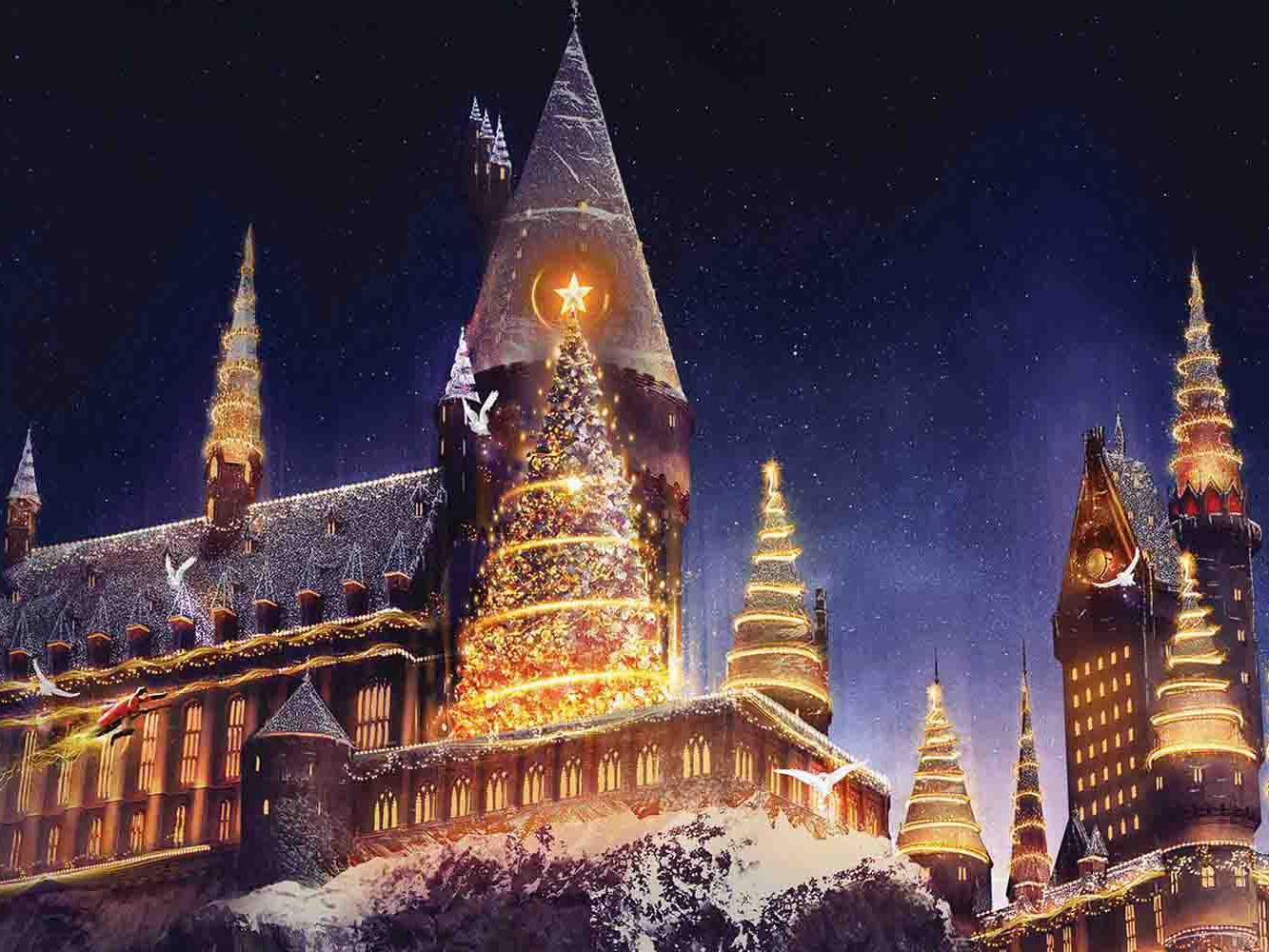 Harry Potter Christmas & Grinchmas: Universal Studios Hollywood