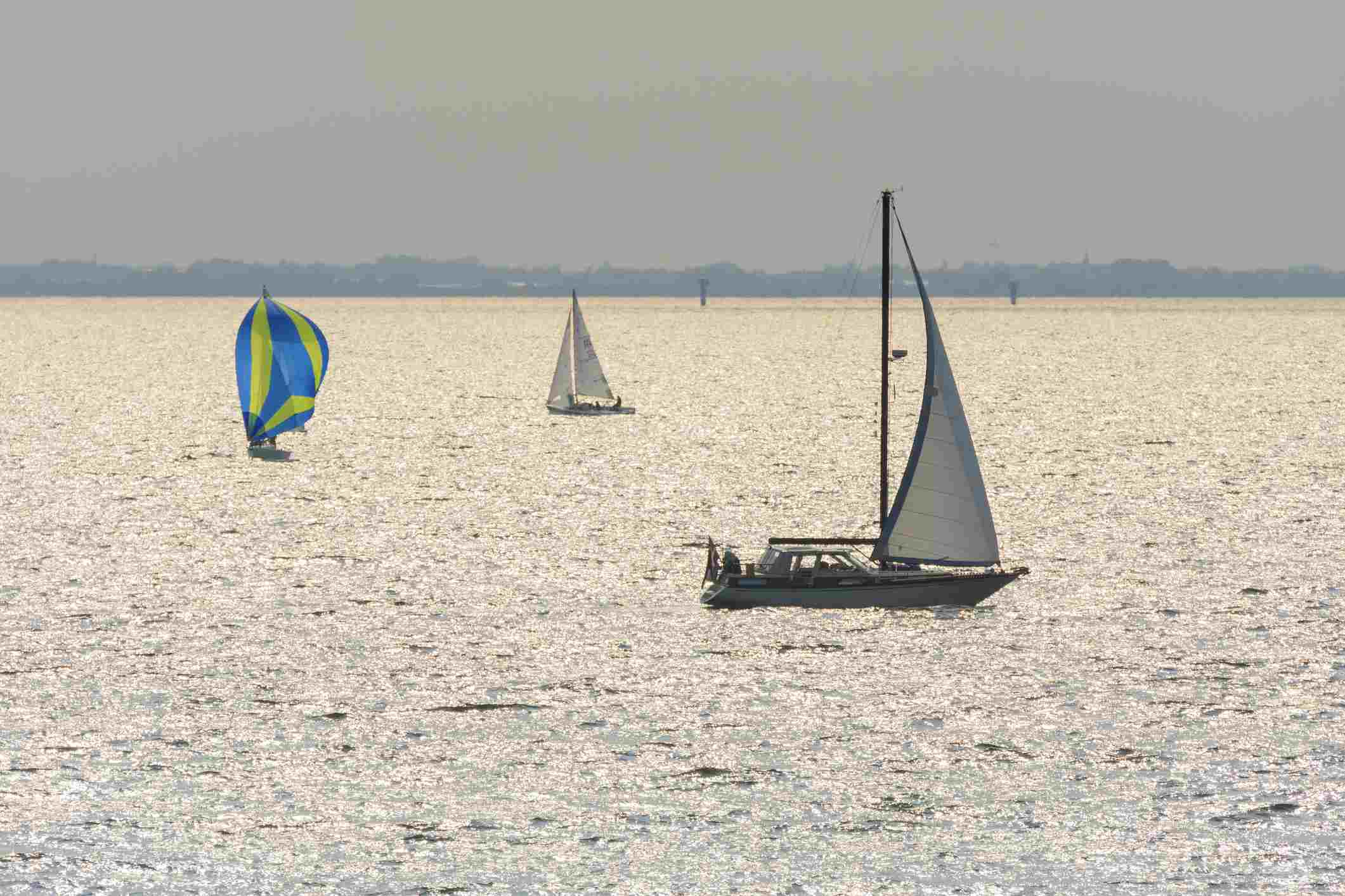Sailing Ships on Oresund