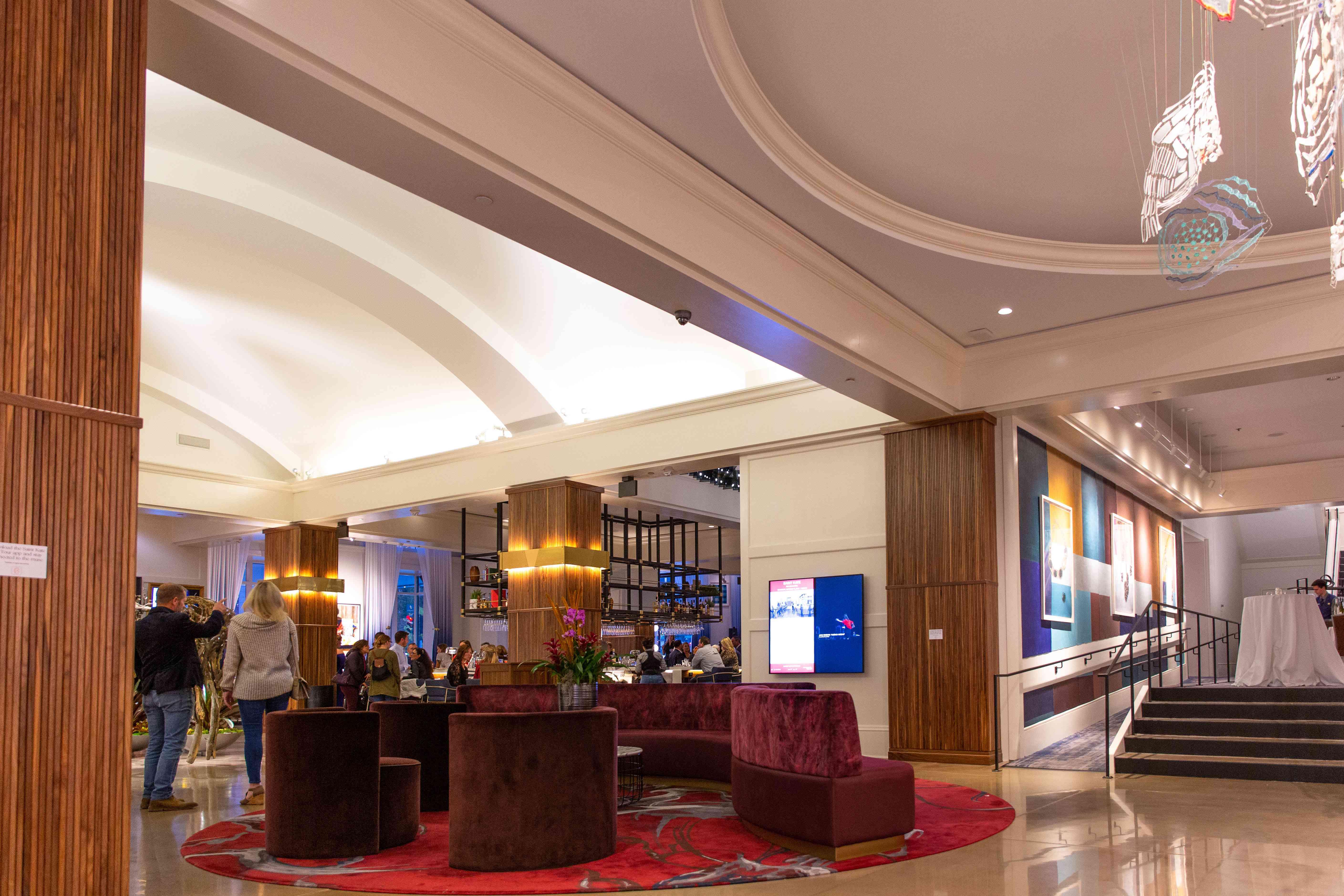 Lobby of Saint Kate hotel