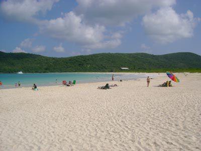 Culebra's magnificent Flamenco Beach