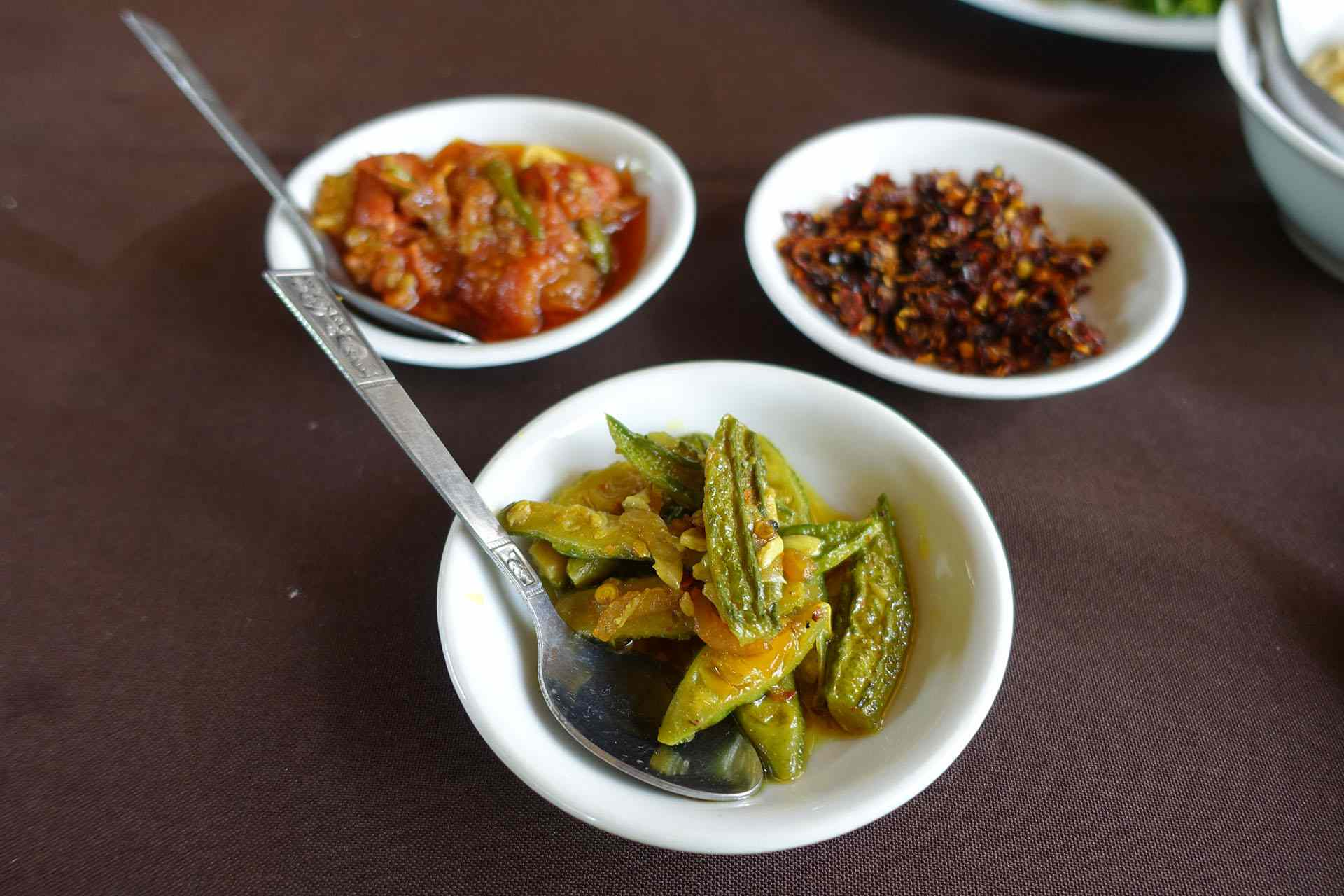 Burmese side dishes