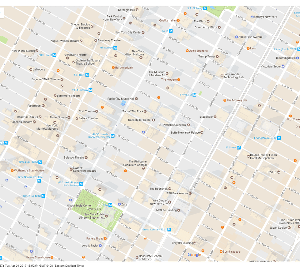 Map Of New York Rockefeller Center.What To Do Around Rockefeller Center In New York City