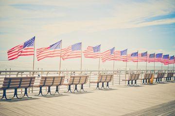 The Long Beach boardwalk.