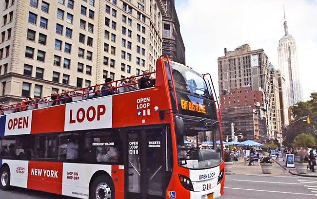 Open Loop Tour Bus