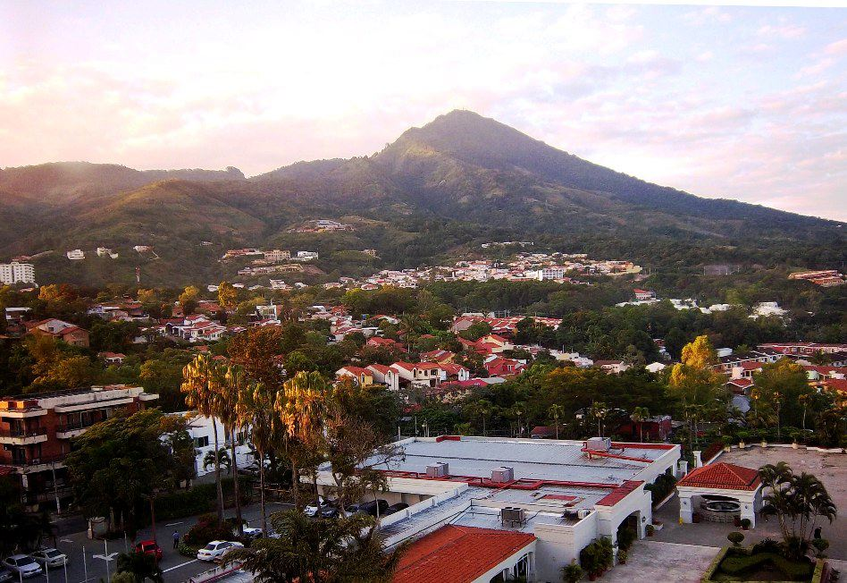 view of San Salvador