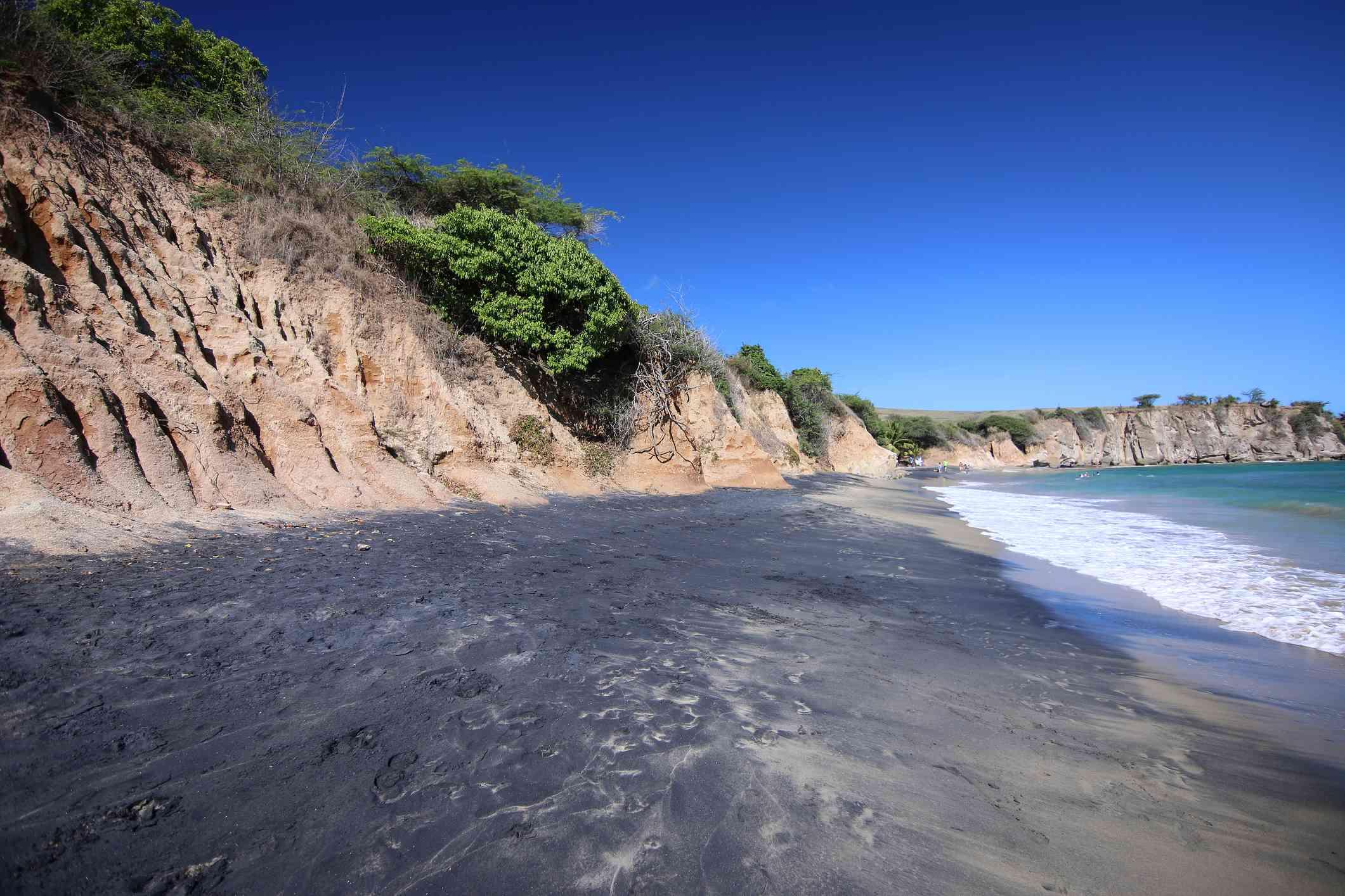 Black Sand Beach (Playa Negra), Vieques, Puerto Rico
