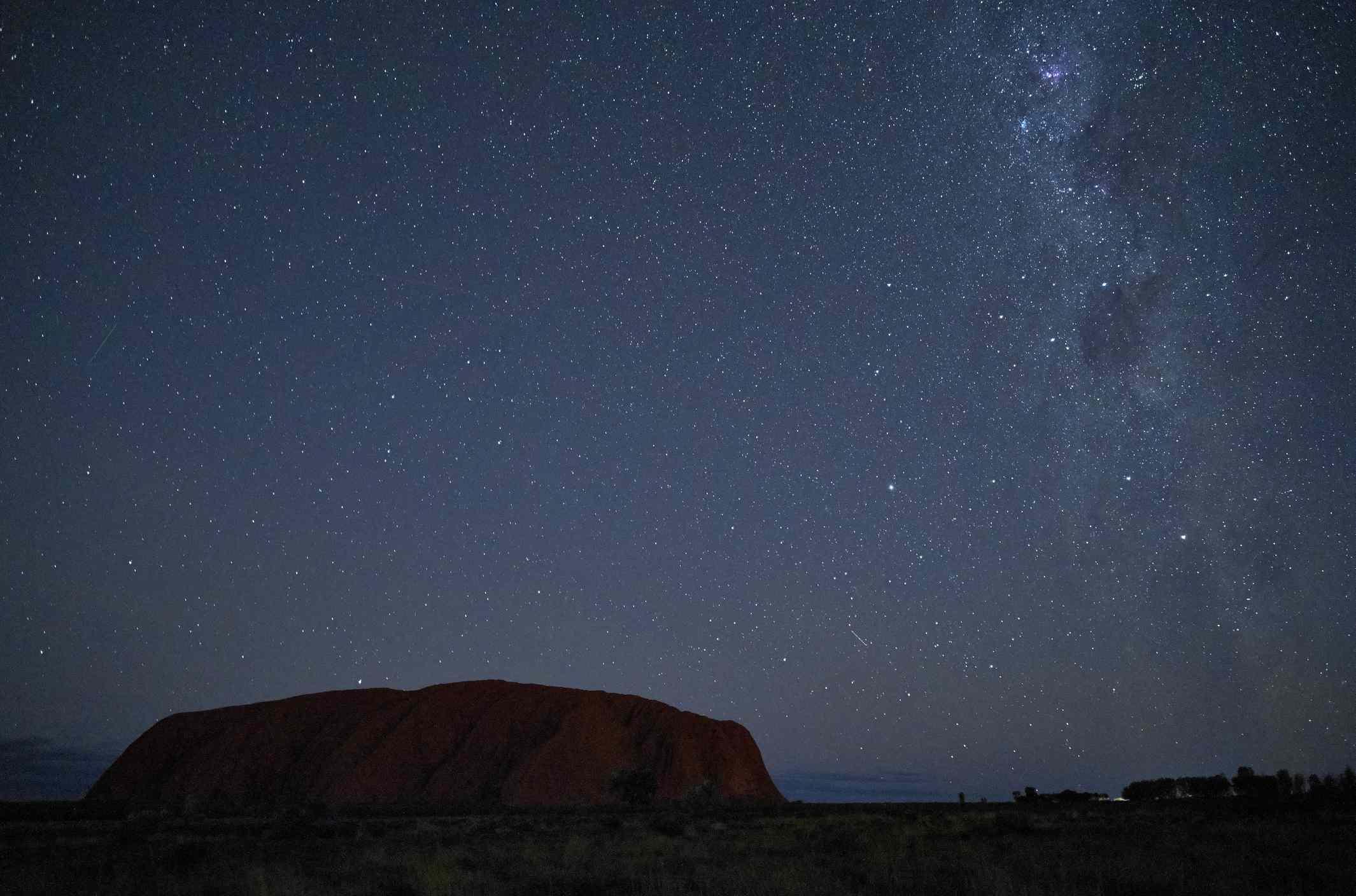 El universo sobre Uluru