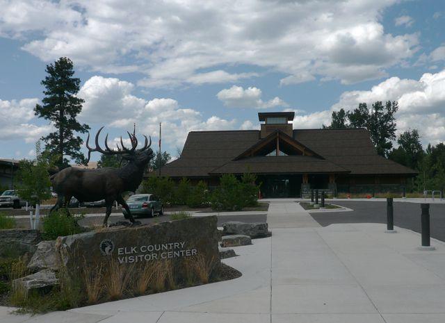 Rocky Mountain Elk Foundation Visitor Center in Missoula Montana