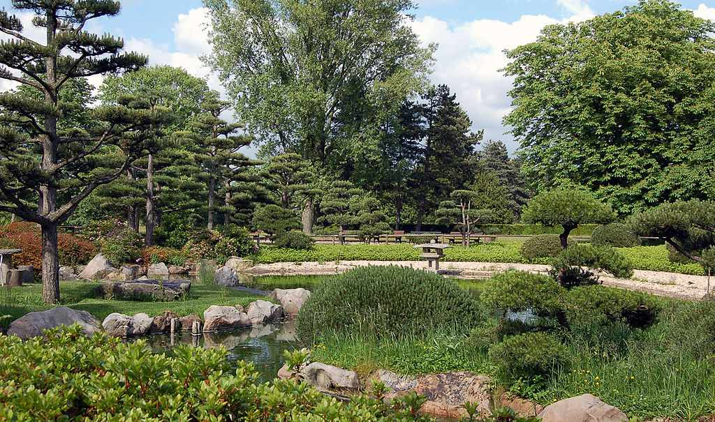 Nordpark Japanese Garden Dusseldorf