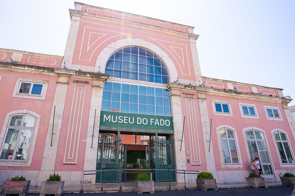 Exterior of Fado Museum