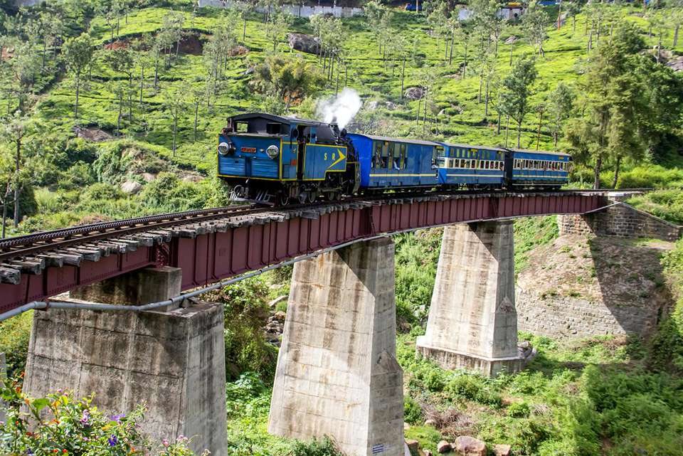 Heritage Train and bridge