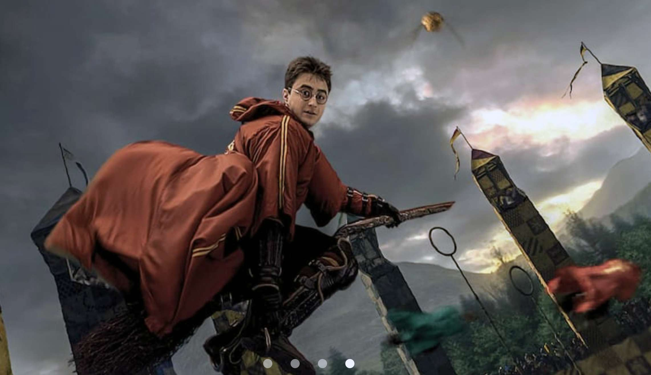 Harry Potter and the Forbidden Journey Quidditch scene