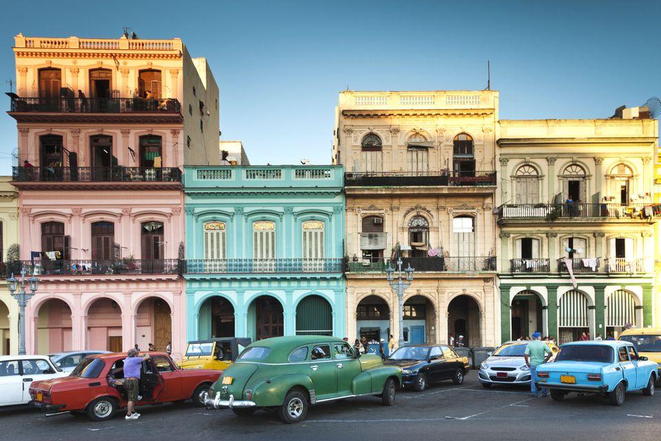 La Habana Vieja en La Habana, Cuba