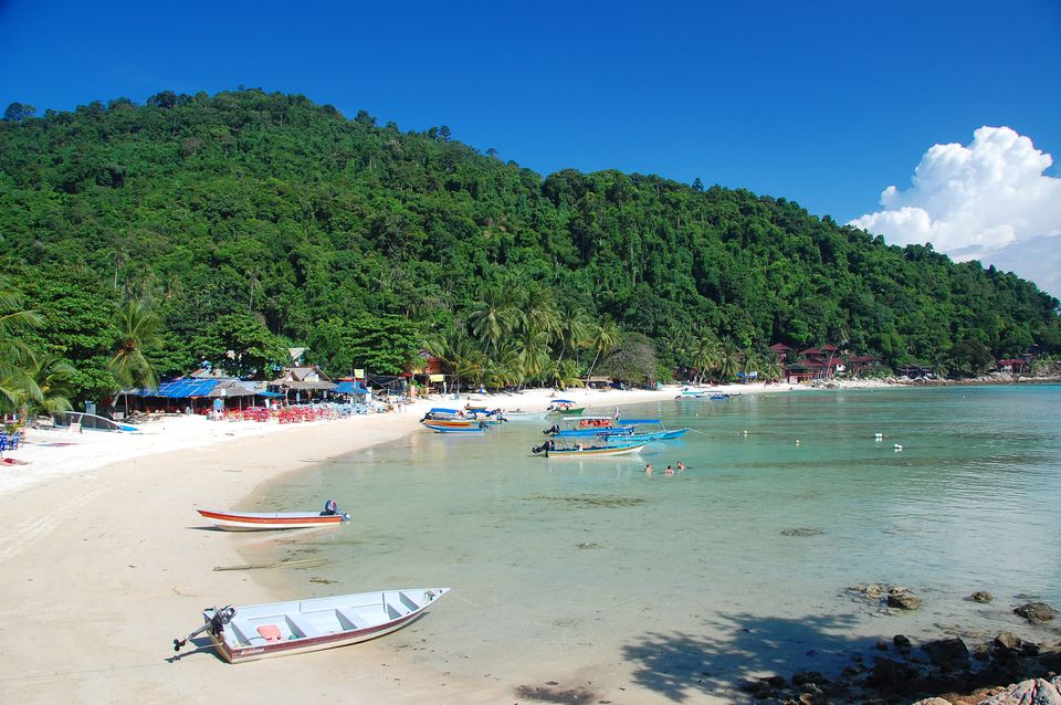 Malaysia's Perhentian Kecil is beautiful