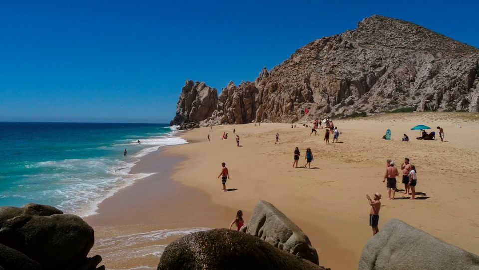 Playa del Amor in Los Cabos