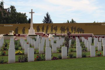 Opening of Fromelles Military Cemetery in Lille, France, and Reburial of the 250th Soldier