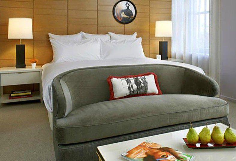 Suite at the 21c Museum Hotel Cincinnati