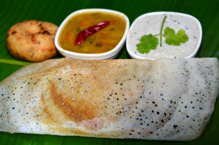 South Indian dosa.