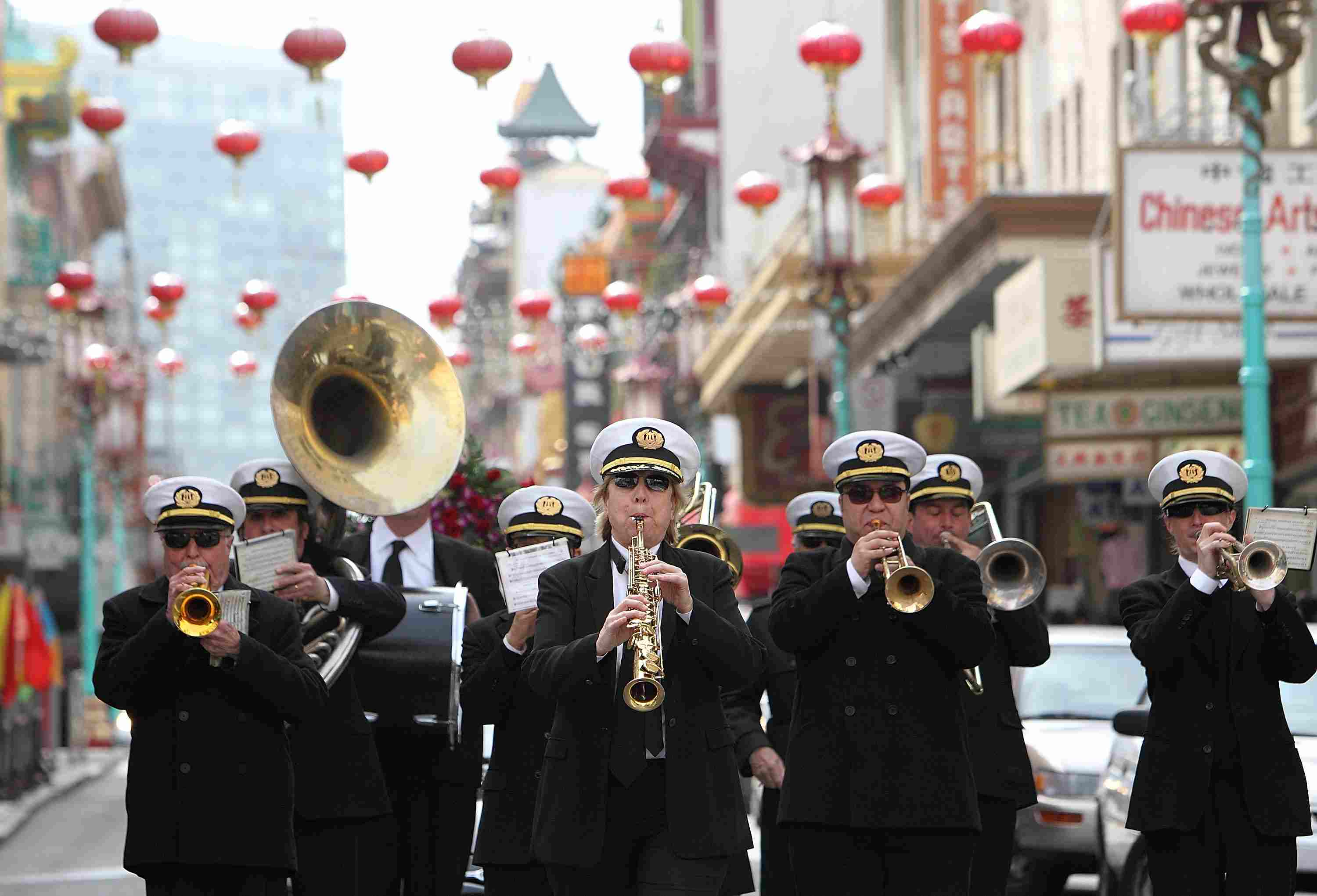 San Francisco Chinatown Funeral Processions Honor The Dead