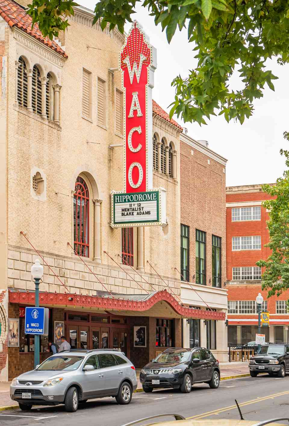 Hippodrome Theater in downtown Waco Texas USA