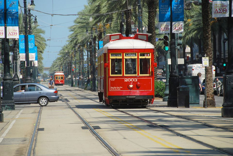 Streetcar, New Orleans