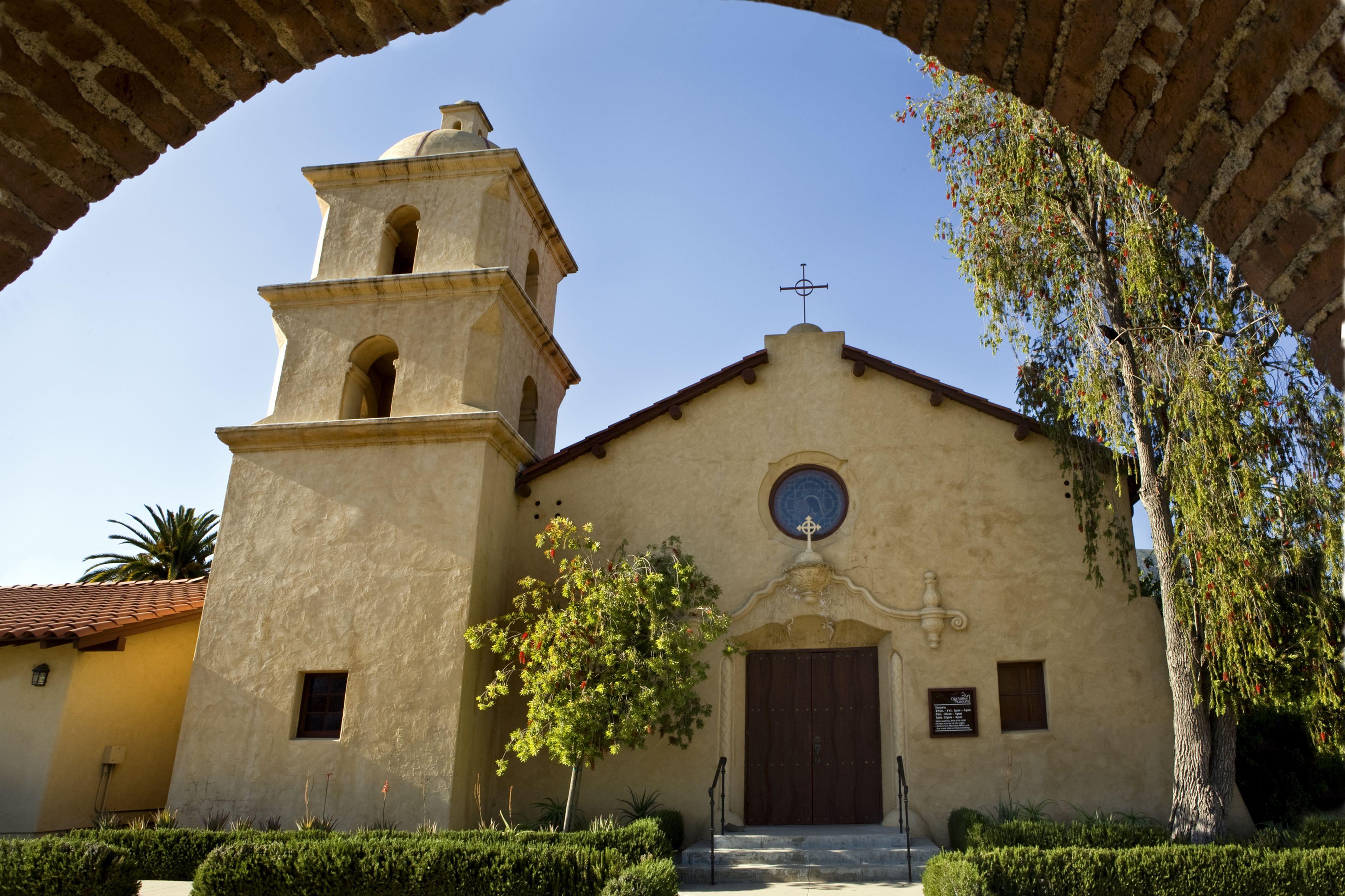 Old Mission at Ojai, CA