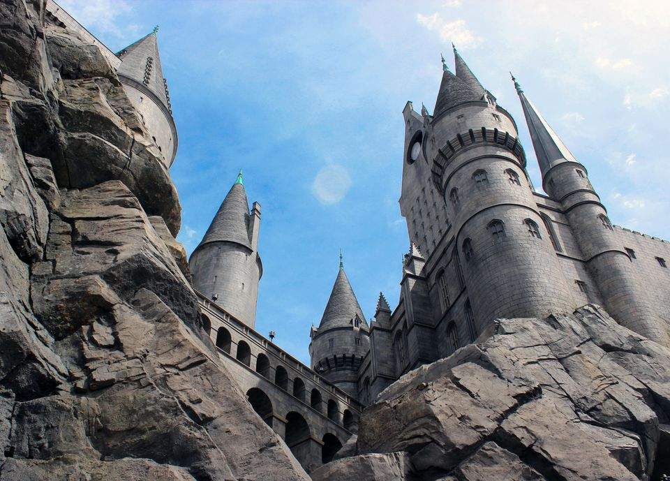 Hogwarts Castle at Universal Studios Hollywood's Wizarding World of Harry Potter