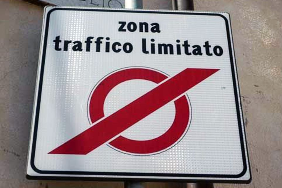 Limited Traffic Zone - Don't Drive Here