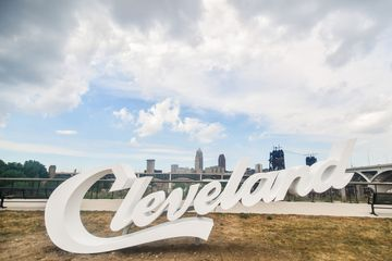 Cleveland Sign in Tremont