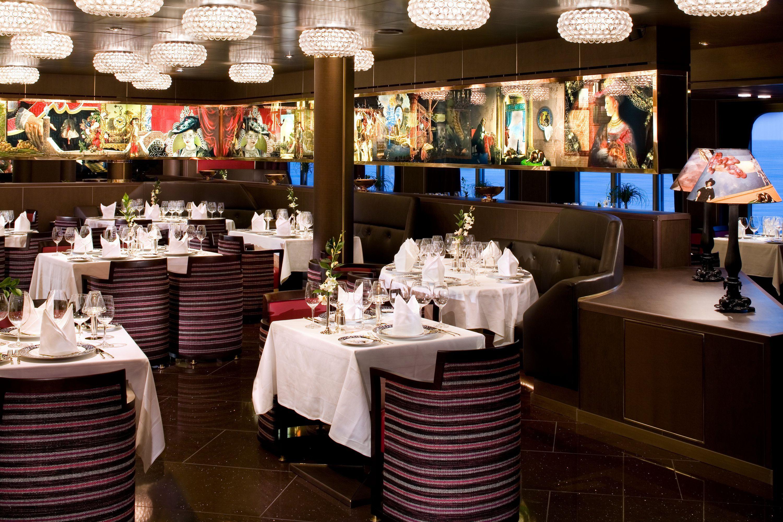 Pinnacle Grill on the Holland America Eurodam cruise ship