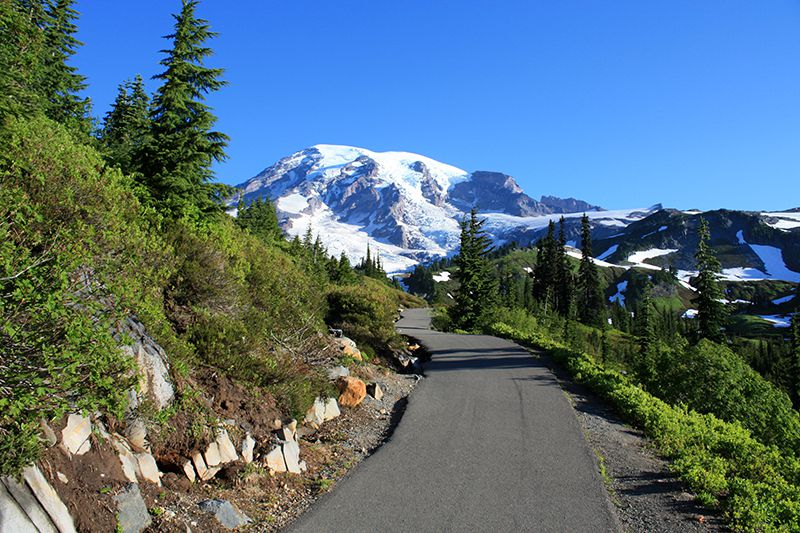Skyline Trail in Mount Rainier National Park