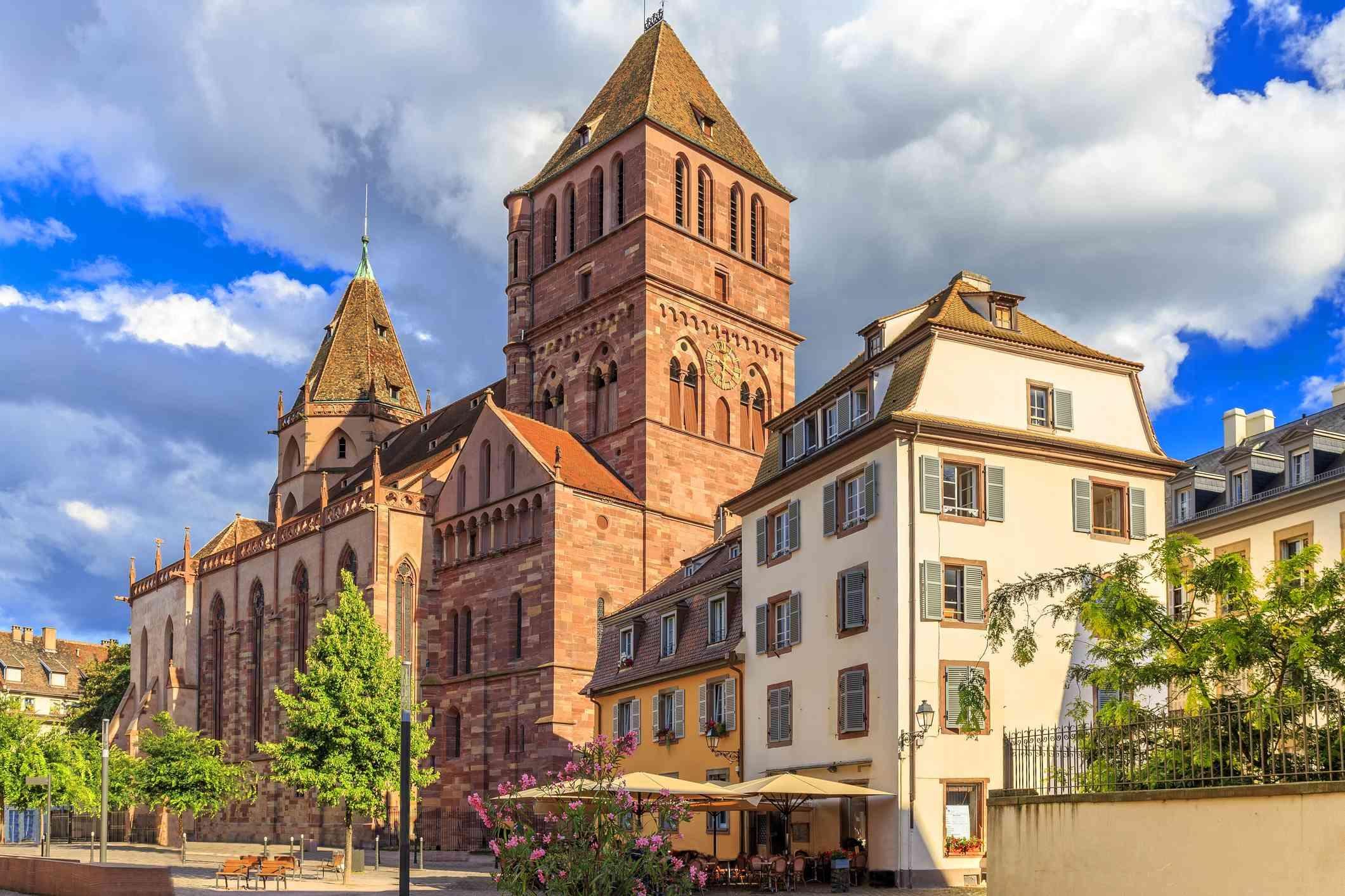 Saint-Thomas Protestant Church in Strasbourg, France