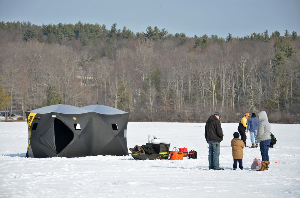 Ice Fishing in CT
