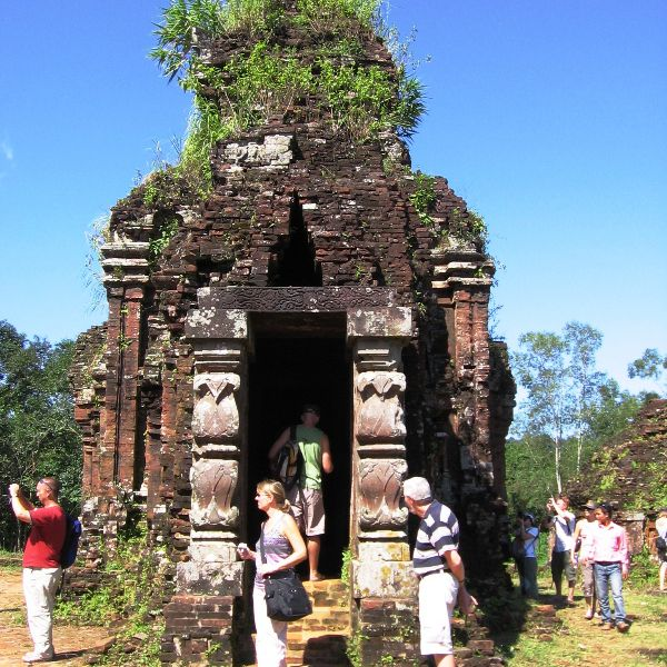 Stupa at My Son Holy Land, Vietnam
