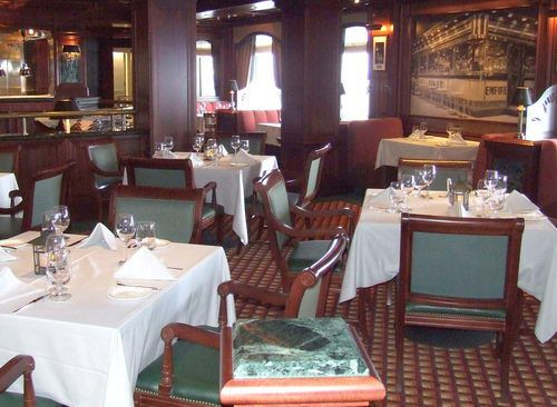 Crown Grill Restaurant on the Emerald Princess