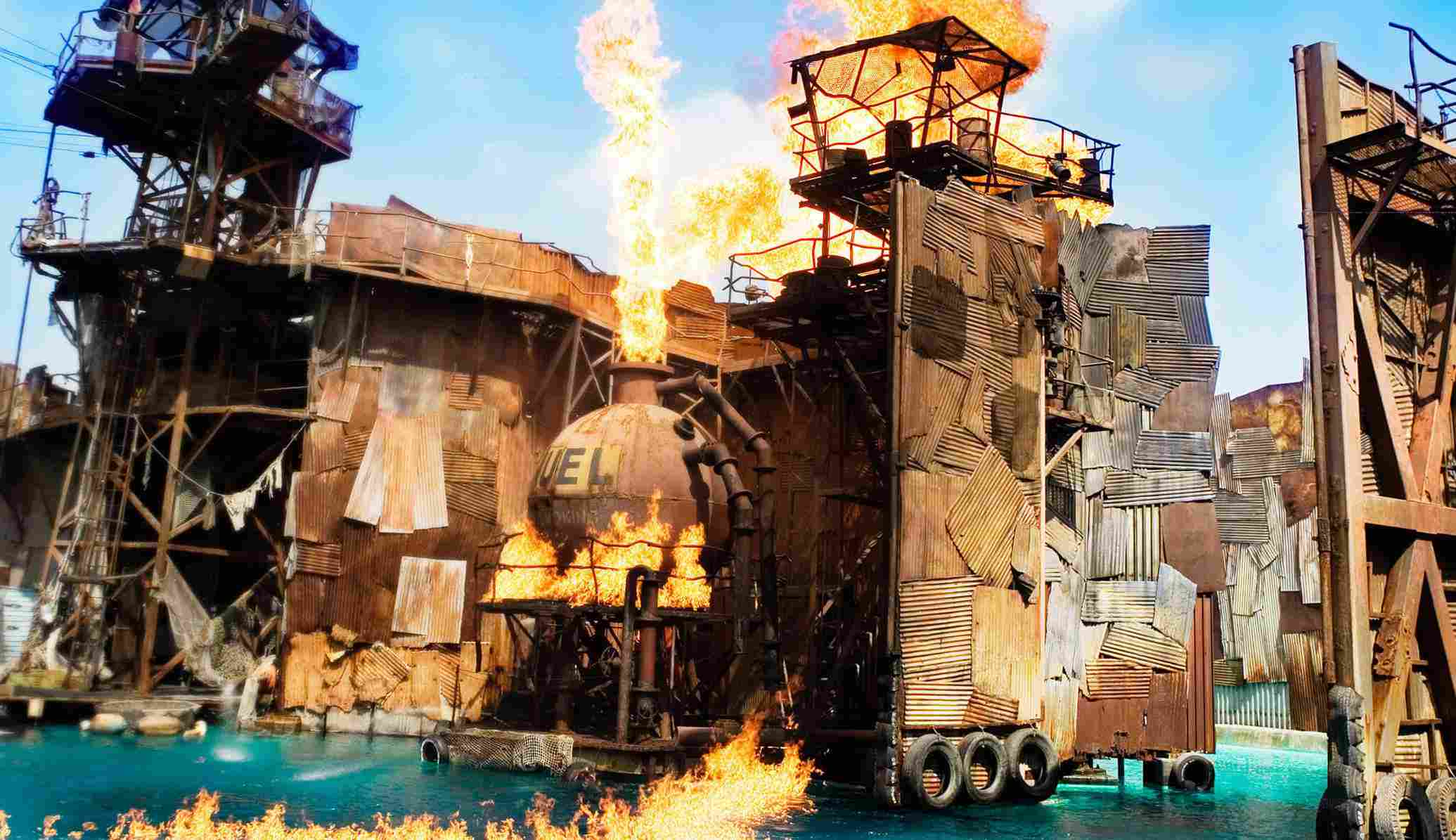 Waterworn show at Universal Studios Hollywood
