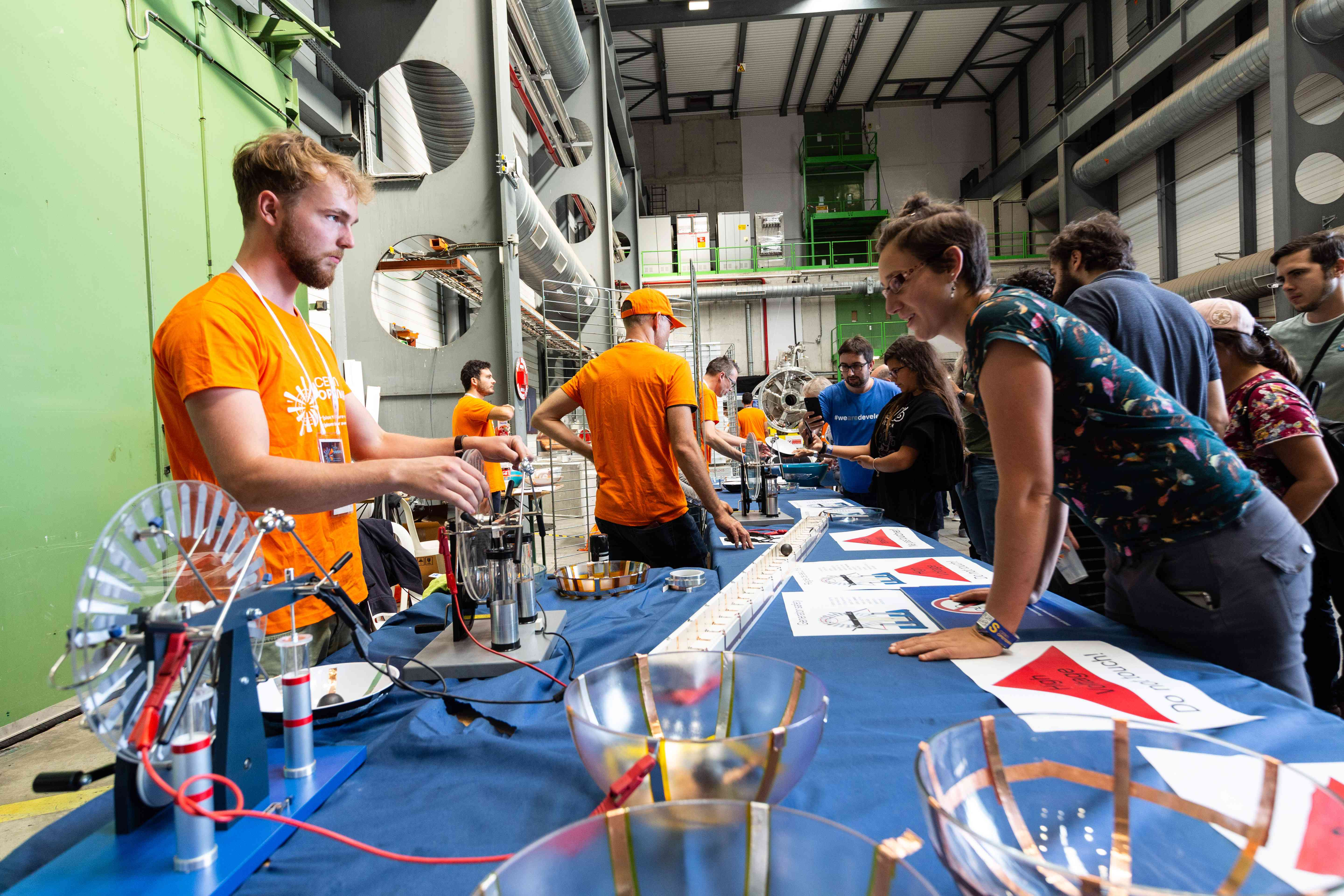 Open Days At CERN Particle Physics Lab