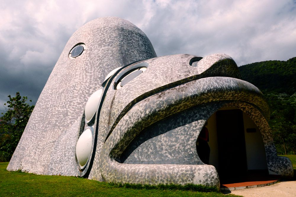 outside of cemi museum in puerto rico